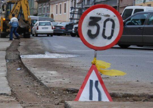 Strada Transilvaniei 3 luni in reparatii