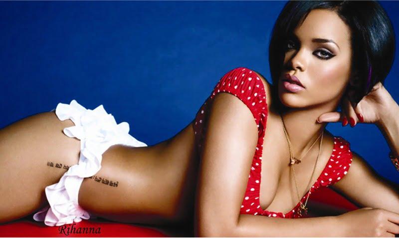 Rihanna in rosu2