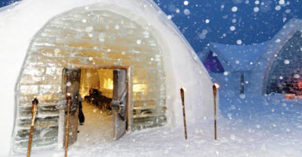 Ambasadorii turismului romanesc au inaugurat Hotelul de Gheata de la Balea Lac