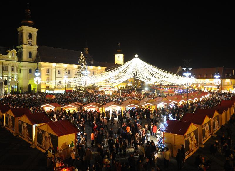 Sibiul promoveaza Targul de Craciun la Berlin