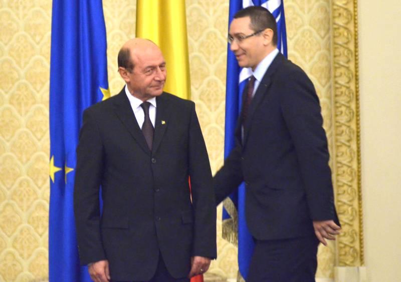 Obiectivul lui Basescu: Ponta sa nu ajunga presedinte