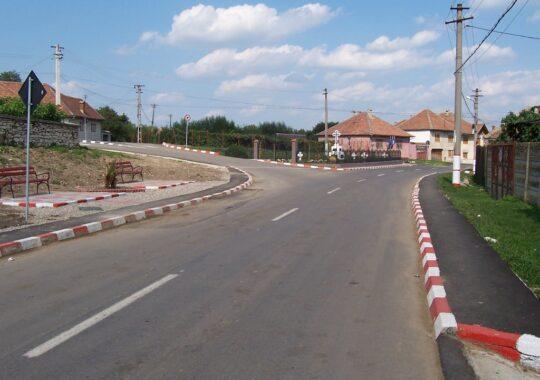 Traficul din Sadu spre Raul Sadului, inchis pana in mai