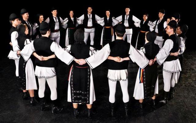 """""""Junii Sibiului"""", spectacol de gala in Irlanda, unde au sarbatorit 70 de ani de activitate!"""