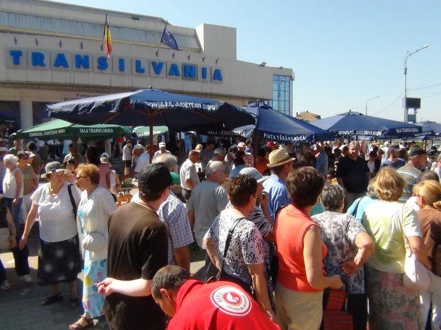 Piata Taraneasca Transilvania a devenit un adevarat brand al judetului Sibiului!