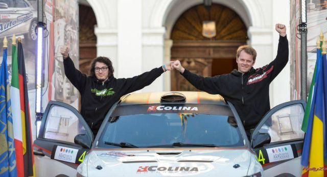Pilotul sibian Sebastian Barbu s-a clasat pe locul secund la European Rally Trophy!