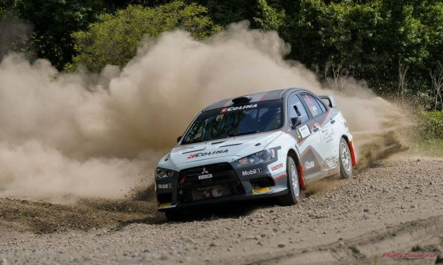 Pilotul sibian Sebastian Barbu s-a clasat pe locul secund la European Rally Trophy!2