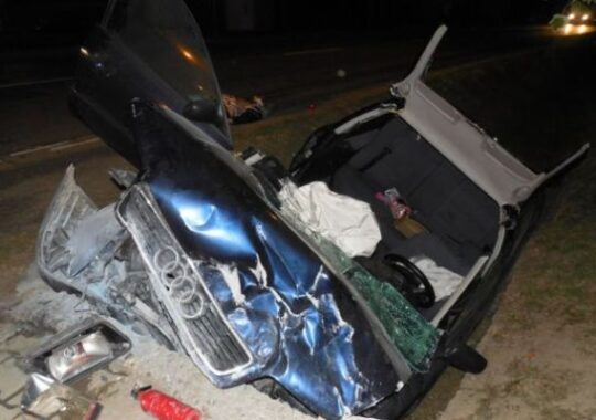 ACCIDENT GRAV in judetul Sibiu dupa ce un sofer a adormit la volan!