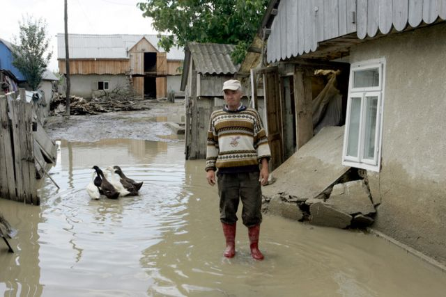 COD GALBEN de inundatii in judetul Sibiu si alte 17 judete din tara!2
