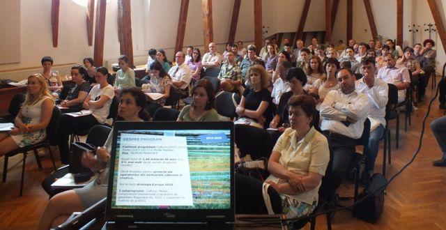 Cerere mare de informatii privind finantarile nerambursabile disponibile in domeniul culturii pentru perioada 2014-2020!2