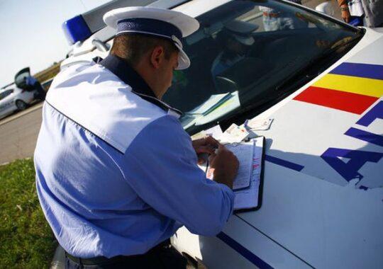 """""""Cadouri"""" de Valentine´s Day de la politistii sibieni. Sanctiuni de peste 60.000 lei"""