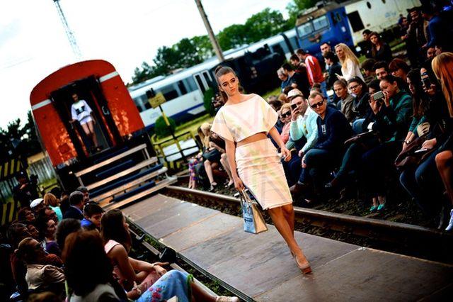 Feeric Fashion Days a transformat Depoul CFR Sibiu si o cariera de piatra in catwalk!