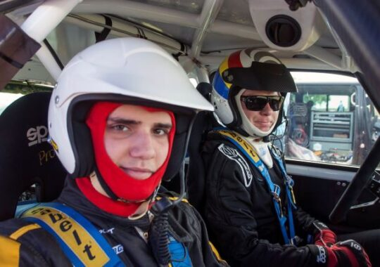 Inca un podium pentru Sebastian Barbu, de aceasta data in Danube Delta Rally!