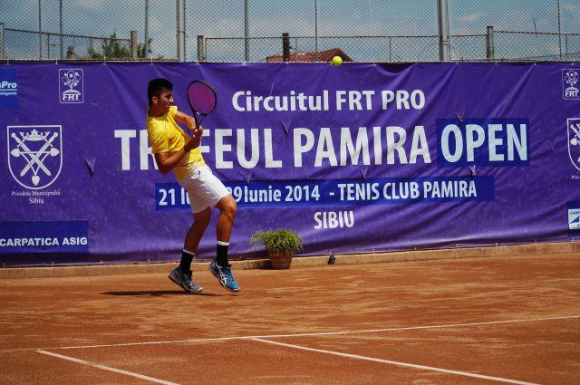 Incep meciurile pe tabloul principal la Pamira Open!