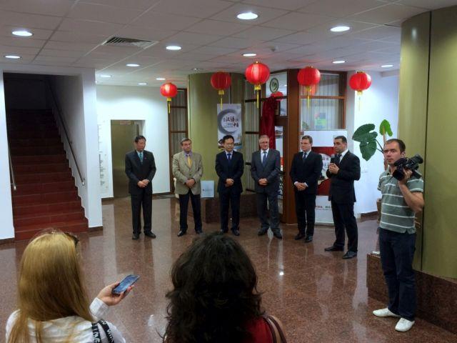 "Ioan Cindrea a participat la inaugurarea Coltului Chinezesc: ""O punte de legatura intre judetul Sibiu si China!"