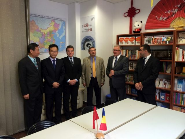 Ioan Cindrea a participat la inaugurarea Coltului Chinezesc2