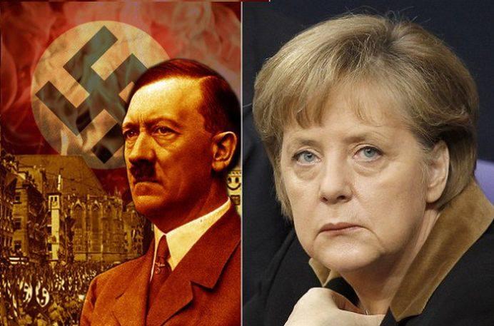 Teorie socanta: Angela Merkel este fiica lui Hitler!