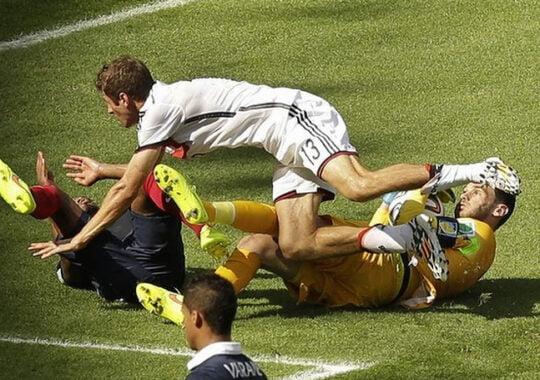 Germania trece usor de Franta, scor 1-0