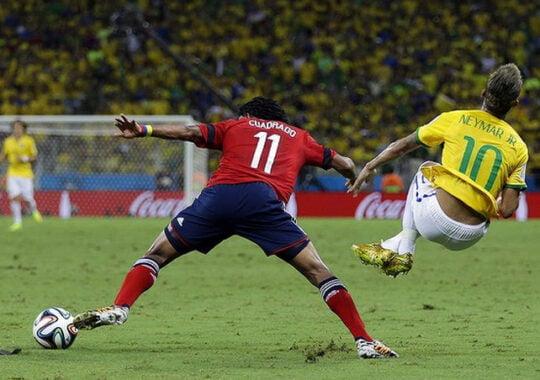 Brazilia invinge Columbia cu emotii pe final, scor 2-1