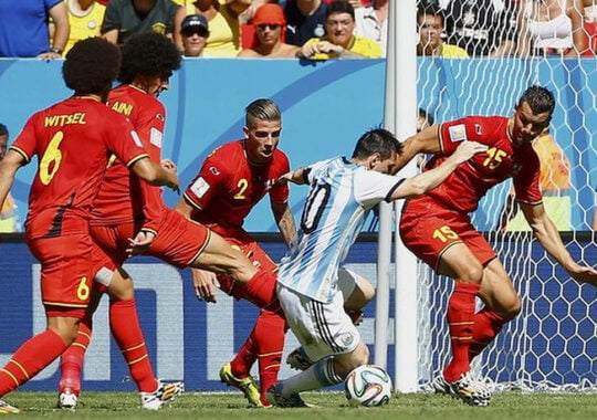 Argentina s-a calificat in semifinalele Cupei Mondiale