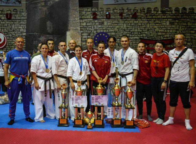 Campionatul European de Karate Kyokushinkai 2014 la Sibiu!