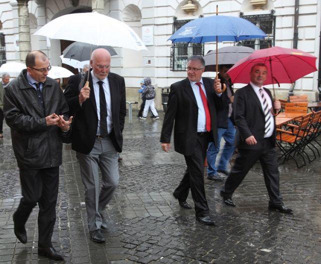 Cooperare intre judetul Sibiu si partenerii francezi din Ill-et-Vilaine in vederea dezvoltarii agriculturii!