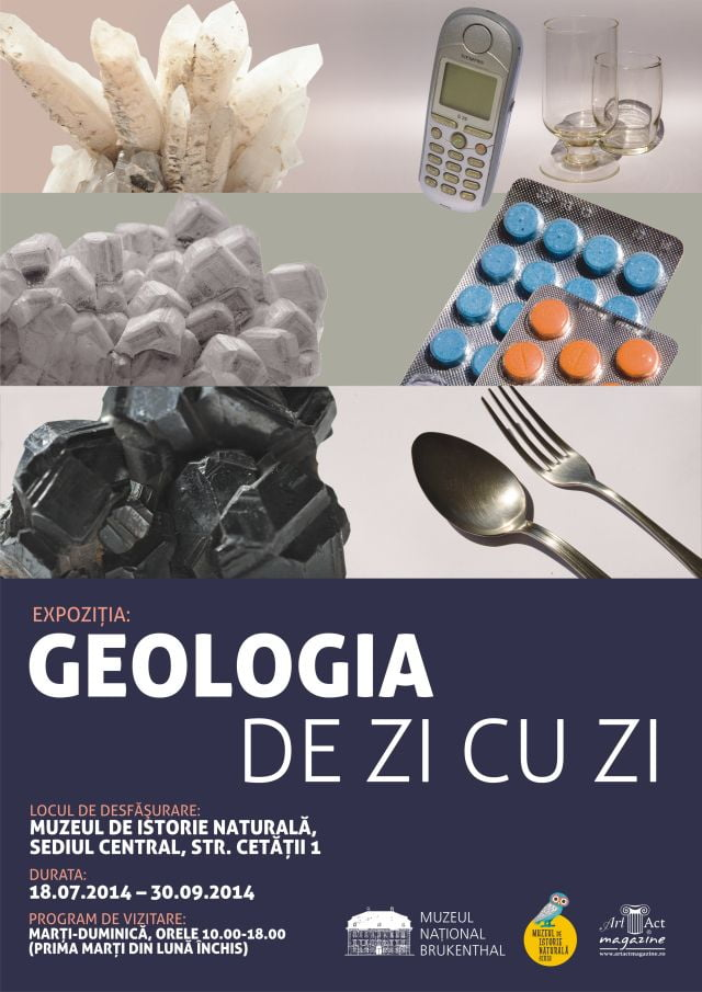 Expozitia Geologia de zi cu zi la Muzeul de Istorie Naturala!2