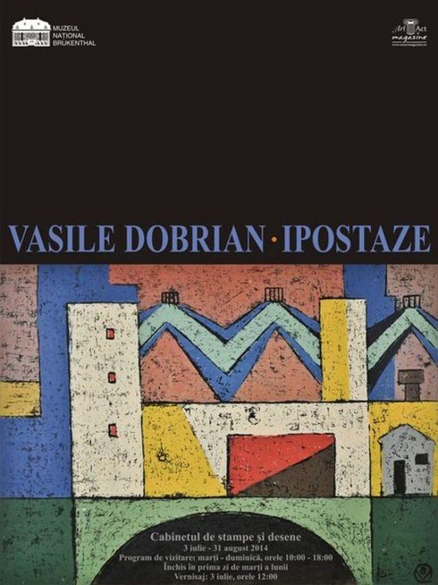 Expozitia Vasile Dobrian Ipostaze are loc la Palatul Brukenthal!2