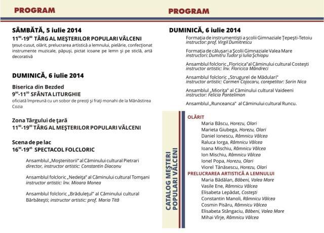 Muzeul ASTRA sarbatoreste Zilele Culturii Populare Valcene 2