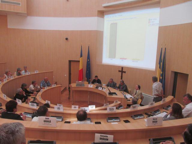 Sedinta extraordinara a consilierilor judeteni!1