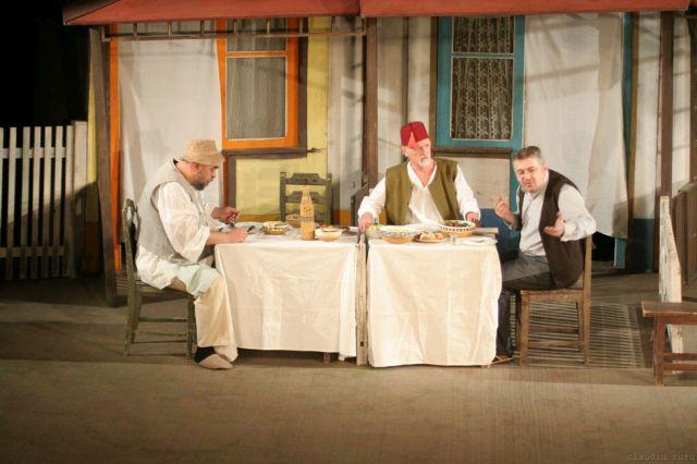 Sufragerie transformata in monument istoric si scena de teatru in judetul Sibiu!