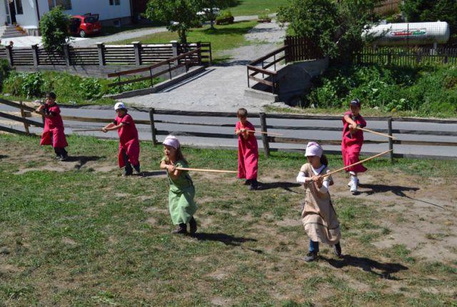 Tabara Medievala pentru Copii si-a deschis portile!