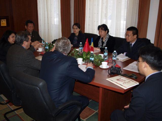 ULBS intareste relatiile cu institutiile de invatamant din China!2