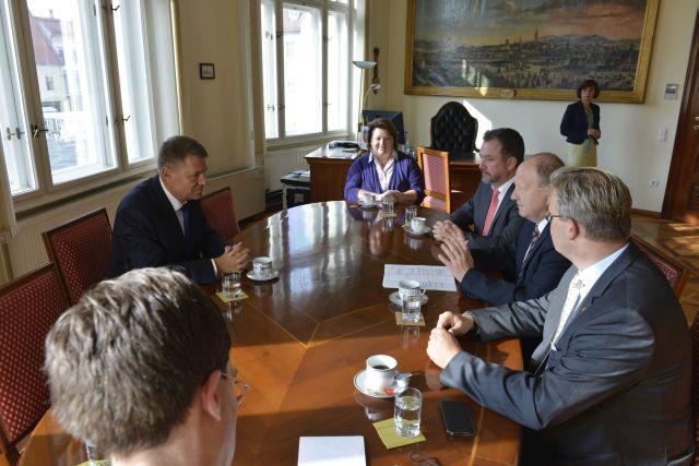 Delegatie a Parlamentului Germaniei in vizita la Primaria Municipiului Sibiu!