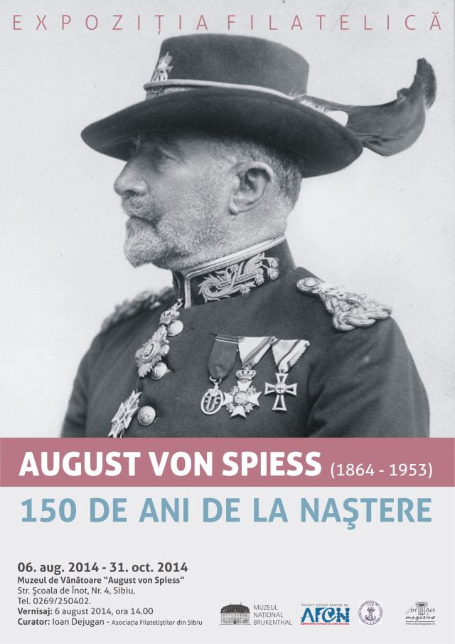 "Expozitia Filatelica August von Spiess la Muzeul de Vanatoare ""August von Spiess2"
