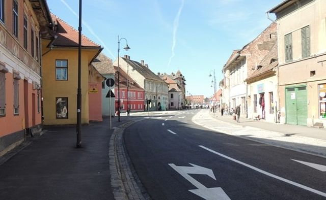 Incep lucrarile pe strada Macaralei si Otelarilor din Sibiu!