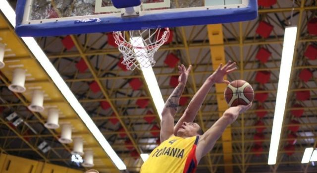 Romania a invins Suedia cu 77-72, in al doilea meci din preliminariile CE din 2015 la baschet masculin!2