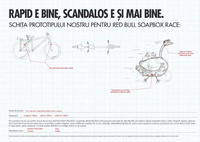 O echipa va reprezenta Sibiul pe 14 septembrie la Red Bull Soapbox din Bucuresti!2
