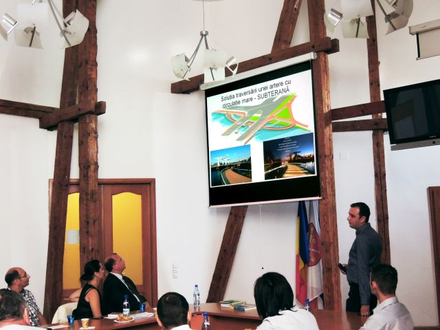 Primaria Sibiu, gazda unei intalniri de lucru pe tema pistelor pentru biciclete!2