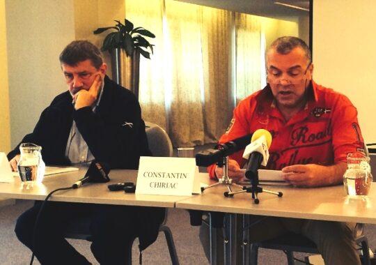 "Mihai Manutiu despre Constantin Chiriac: ""E un director nu prea zdravan la cap"""