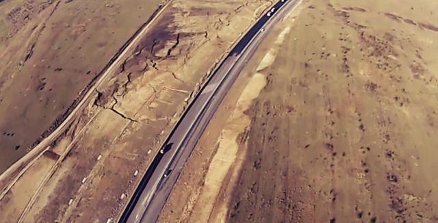 FILMARE AERIANA cu autostrada A1 Sibiu-Orastie! In ce stadiu sunt lucrarile! VIDEO2