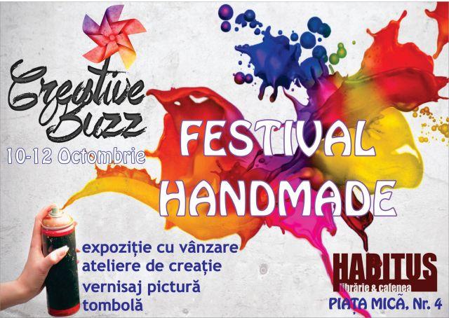 Festivalul handmade CREATIVE BUZZ, trei zile in Libraria Habitus!2