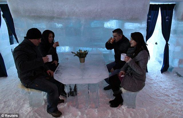 Hotel of Ice - Balea Lac aduce o noua provocare pentru turisti!2