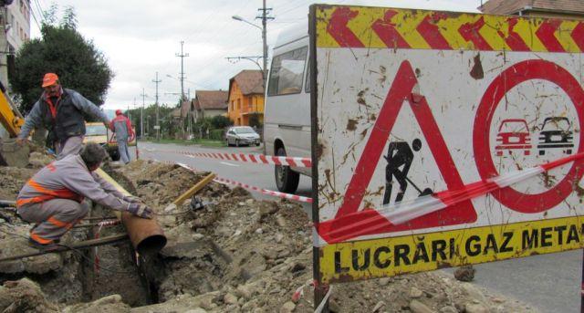 Mai multe zone din Sibiu si Medias vor ramane joi fara GAZE!