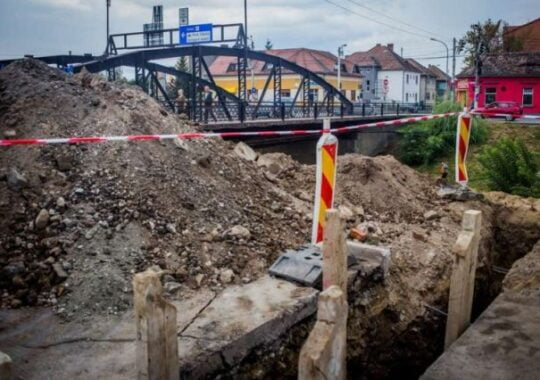 Noi lucrari la retele si carosabil in mai multe zone din Sibiu!
