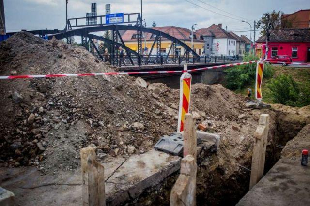 Noi lucrari la retele si carosabil in mai multe zone din Sibiu!1