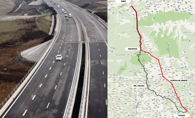De ce a suspendat CNAIR proiectul autostrazii Pitesti-Sibiu: e iarna!