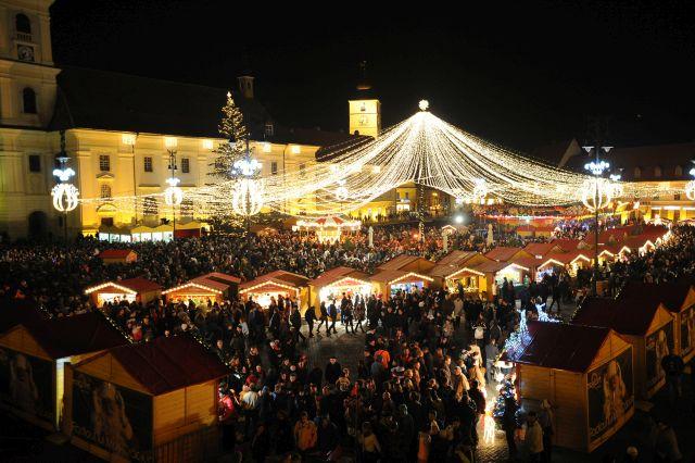 STEFAN BANICA va deschide Targul de Craciun din Sibiu 2014!