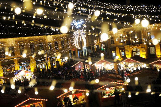 STEFAN BANICA va deschide Targul de Craciun din Sibiu 2014!2