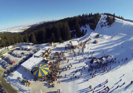 Telescaun instalat la Arena Platos! Cand incepe noul sezon de schi si snowboard!