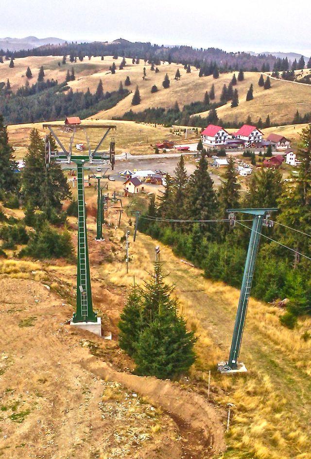 Telescaun instalat la Arena Platos! Cand incepe noul sezon de schi si snowboard!2